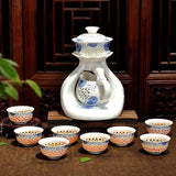 Chinese Ceramic/Porcelain Tea Sets in 12 Styles (11 pieces per set)