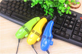 Portable Universal Reusable USB Vacuum Cleaner for Electronic Devices (5 colors)
