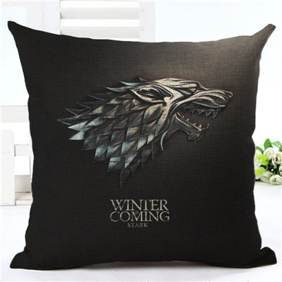 Game of Thrones Themed Pillow Covers (25 styles)