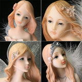 Resin Fairy Statues (4 styles) & Candle Holder (1 style)