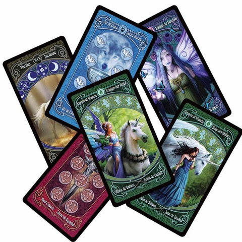 Gorgeous Multi-Lingual Tarot Cards (3 Styles)
