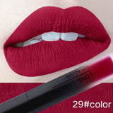 Intense Color Water Resistant Matte Liquid Lipstick (30 Colors)