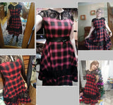 Summer Style Plaid/Tartain Dress (S-2XL)