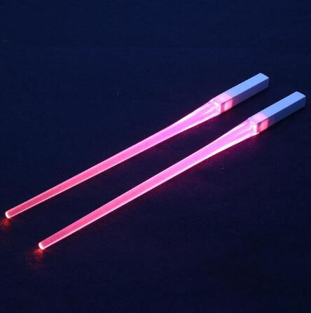 1 Pair LED Light Up Chopsticks. Eat like a Jedi