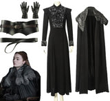 Game of Thrones Sansa Stark Lady of Winterfell Costume 7 Pieces (XS-3XL)