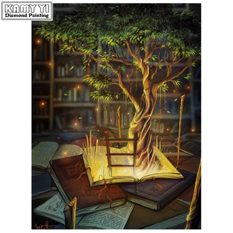 Full Drill DIY Diamond Painting Tree of Knowledge (16 sizes)