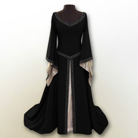 Gorgeous Renaissance Style Dress w/Drop Waist (S-5XL)