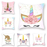 Unicorn Themed Pillow Covers (4 styles)