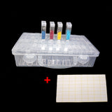 64 Slot Plastic Storage Box for Beading, Diamond Painting, etc.