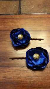 Hair Pins/ Midnight Blue - thatboholife