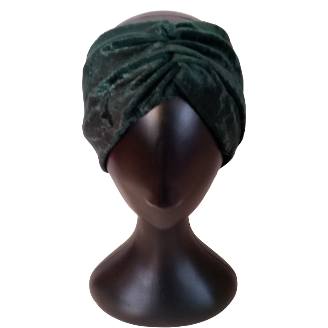 Turban Headband Emerald Green - thatboholife