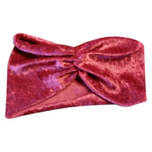 Turban Headband Burgundy - thatboholife