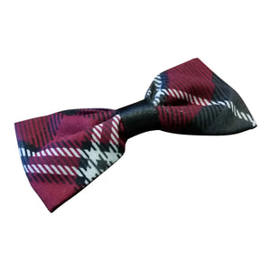 Tartan Plaid Hairbow - thatboholife