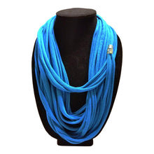 Jersey Knit/Scarf Necklace. - thatboholife
