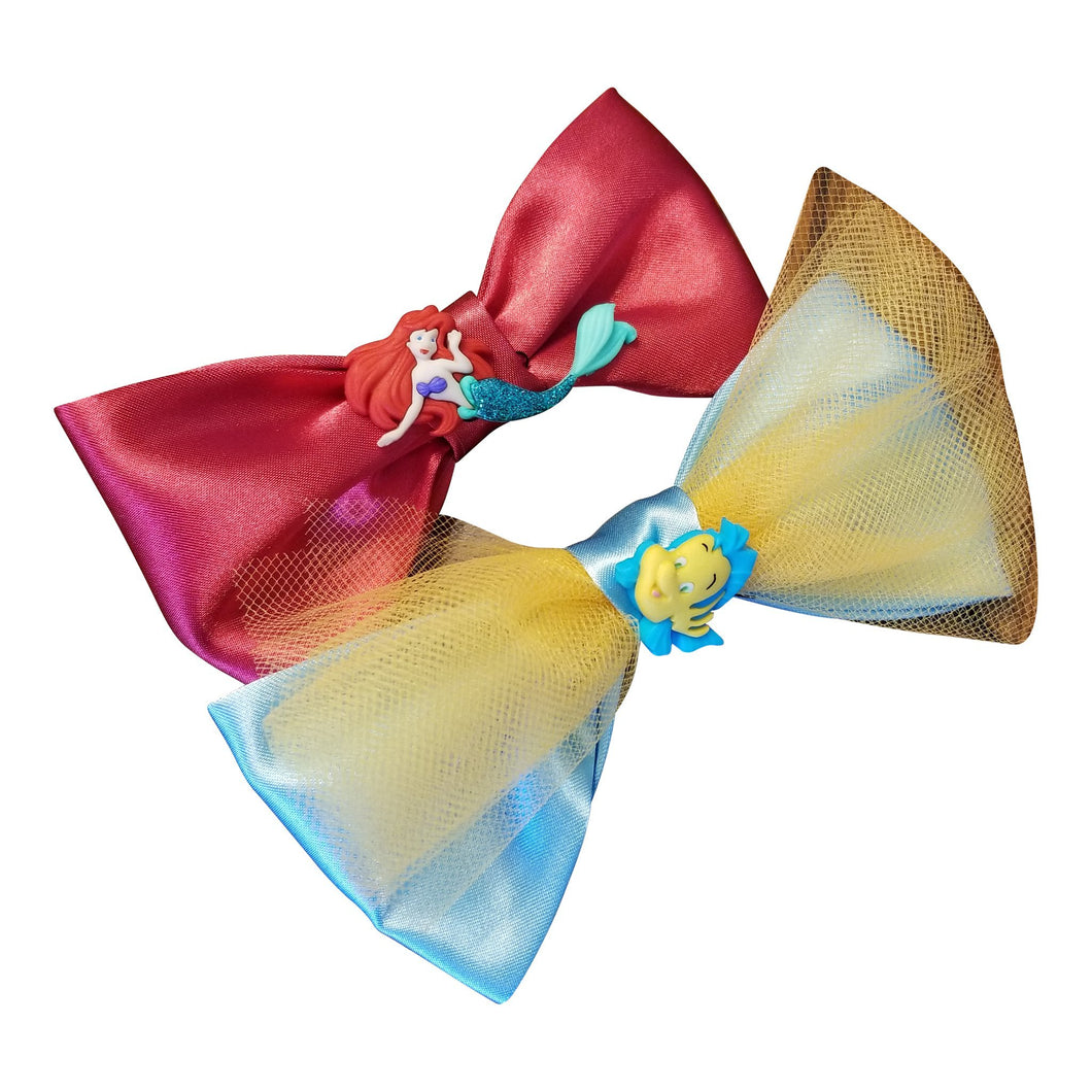 Little Mermaid Hairbow - thatboholife