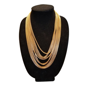 Gold  Statement Necklace - thatboholife