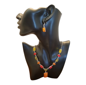 Necklace and Earring set - thatboholife