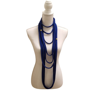 Jersey Knit Scarf/Necklace.