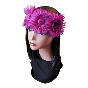 Flower Crown/ Gerbera Daisies - thatboholife