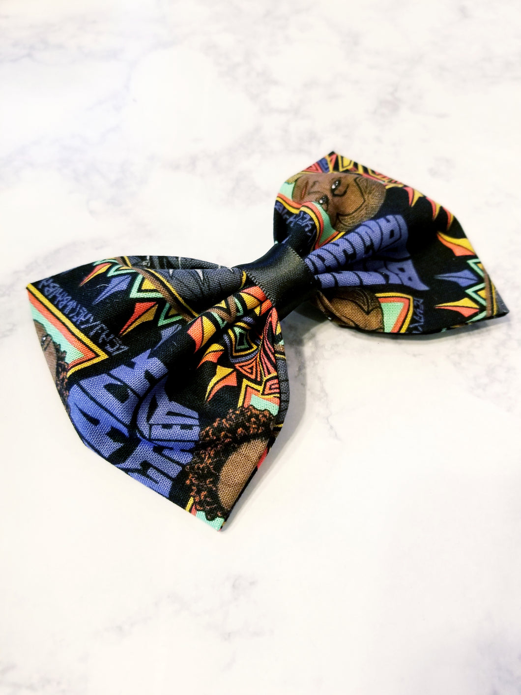 Black Panther Hairbow - thatboholife