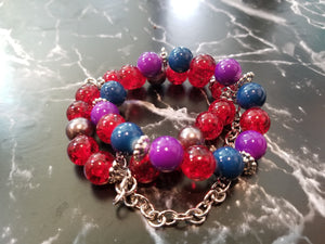 Glass Beaded Bracelet. - thatboholife