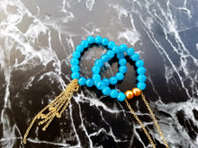 Beaded Bracelet w/Chain - thatboholife