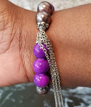 Glass Beads w/ Chain tassels. - thatboholife