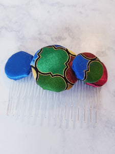Button Hair Combs - thatboholife