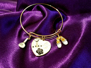 Adjustable Gold Bangle Bracelets
