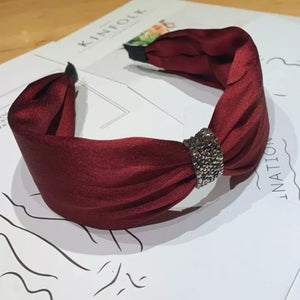 Rhinestone Gathered Headband
