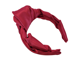 Satin Headband Couture  Draping