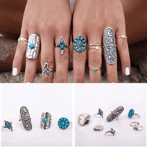 Vintage Style  Ring Set