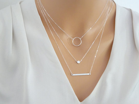 Layered Necklace - thatboholife