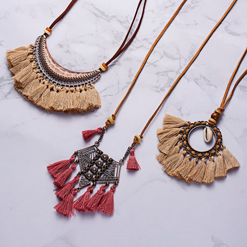 Bohemian Tassel  Necklace - thatboholife