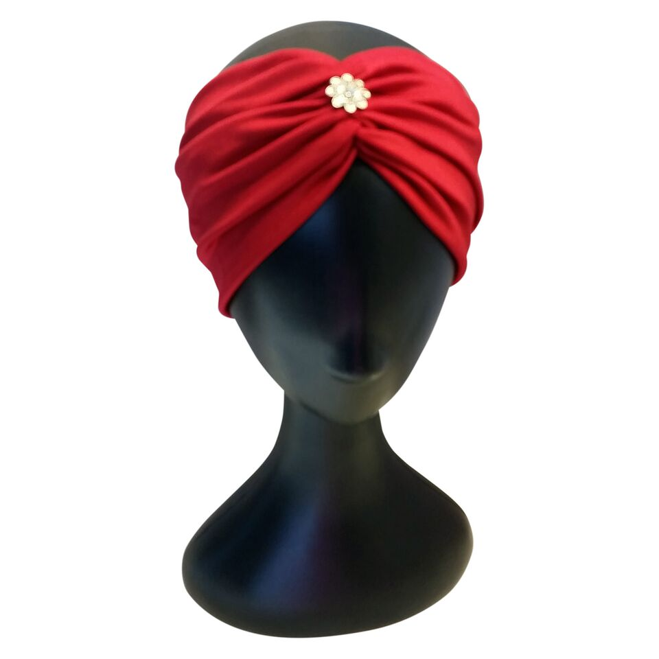 Red Turban Headband - thatboholife