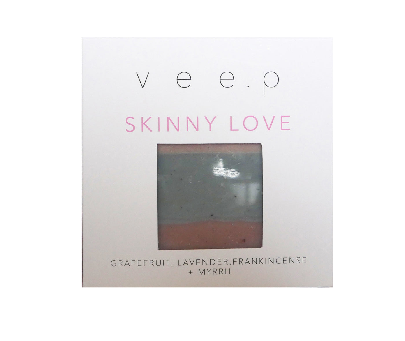 SKINNY LOVE SOAP BAR - Pink grapefruit, lavender, frankincense & myrrh