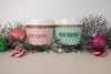 Christmas Fizzy Bath Salts with personalised labels - LIMITED CHRISTMAS EDITION