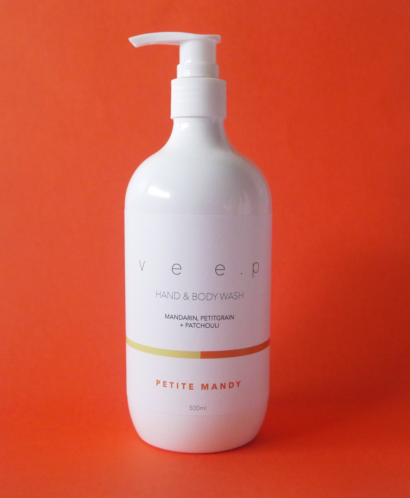PETITE MANDY BODY WASH - Mandarin, Petit grain & Patchouli
