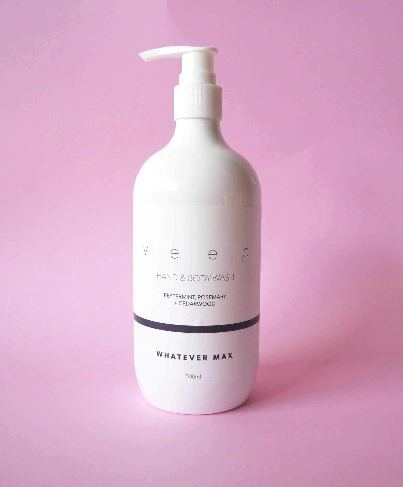 WHATEVER MAX BODY WASH - Peppermint, rosemary & cedarwood