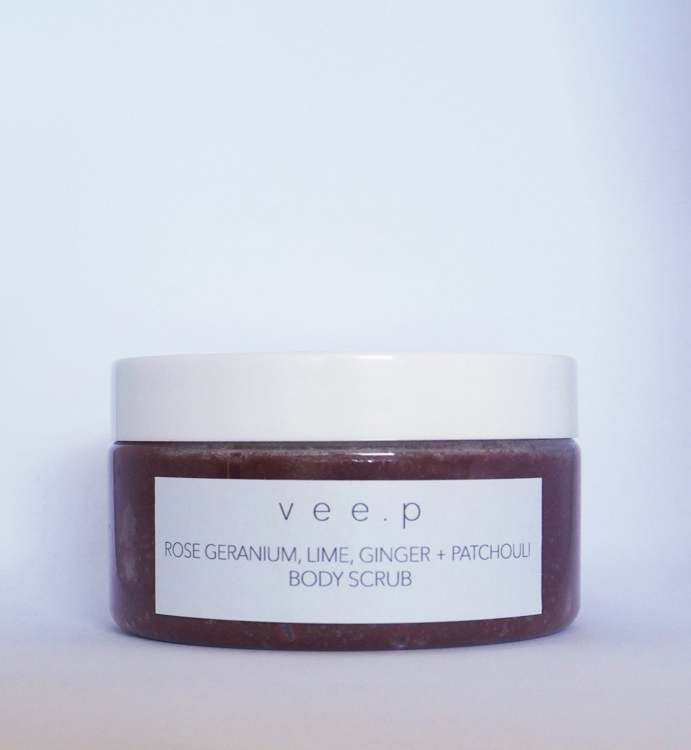 POLLY PICKET BODY SCRUB - Rose Geranium, Lime, Ginger & Patchouli