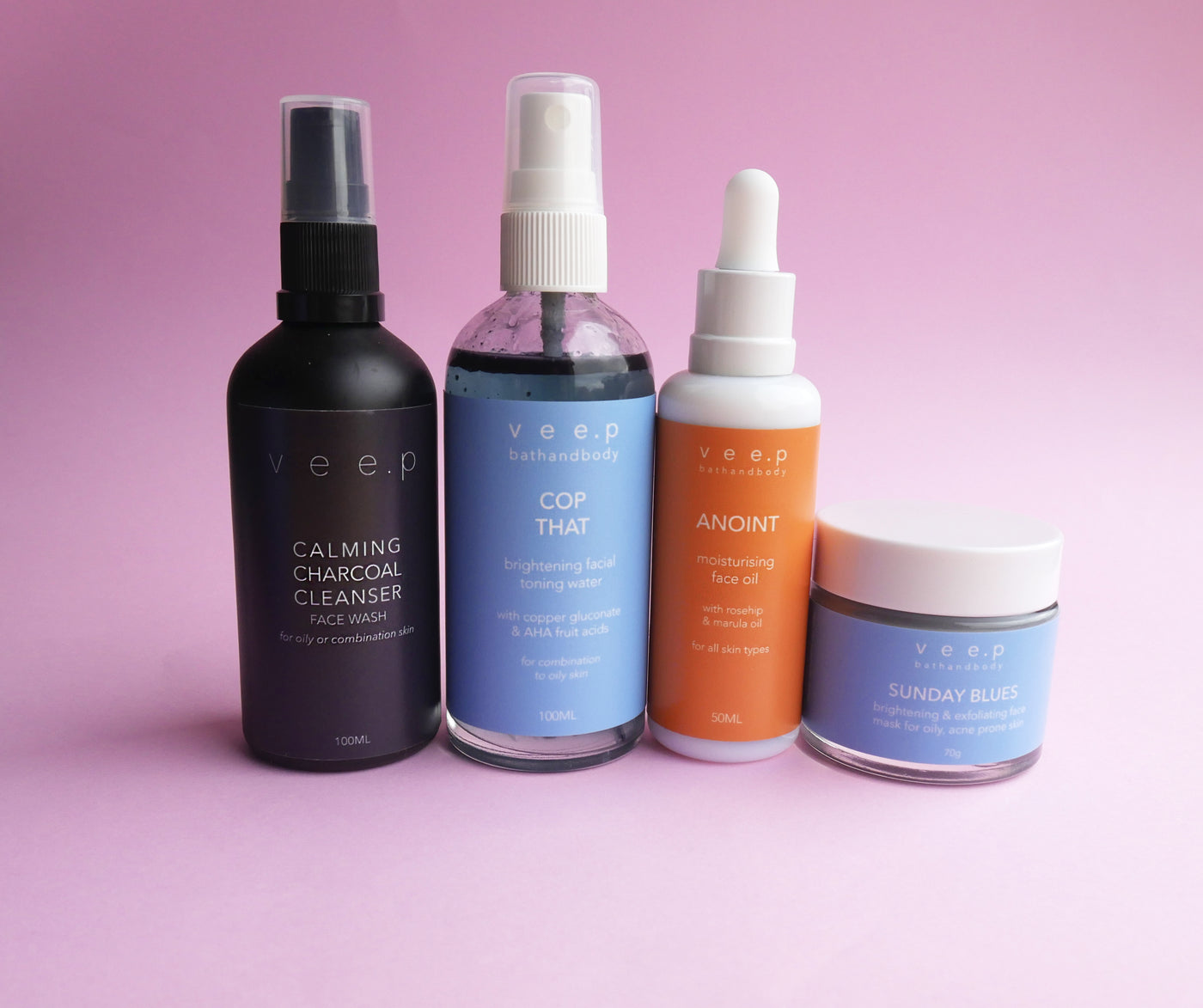 SKINCARE FULL SET - Oily/acne prone skin