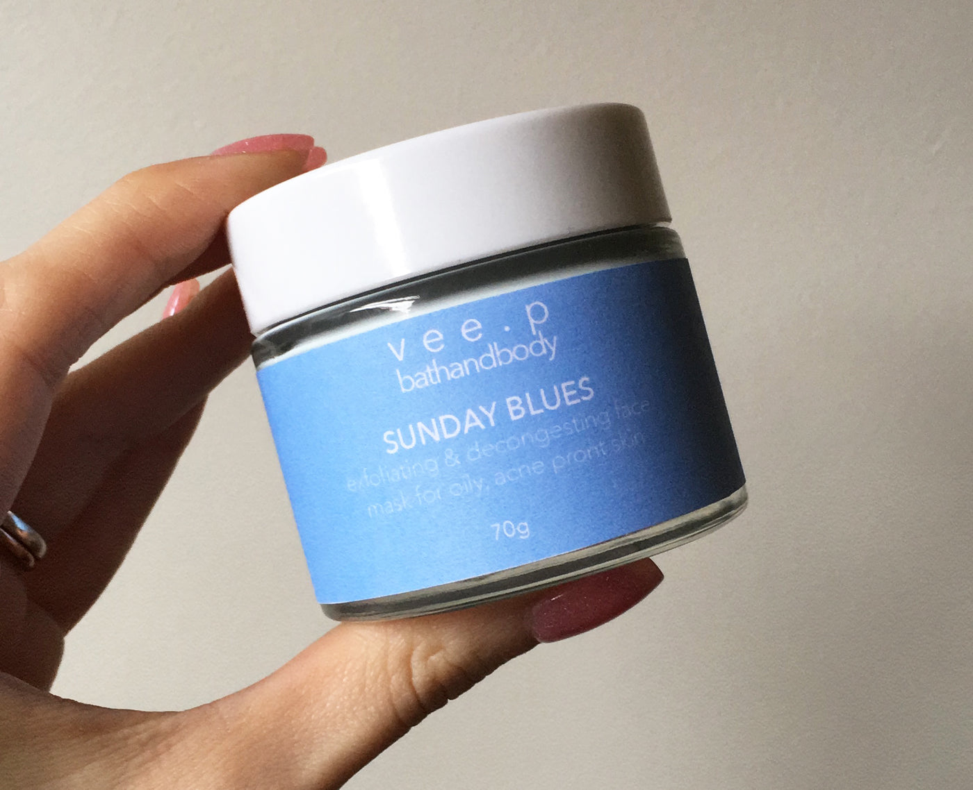 SUNDAY BLUES Brightening & Exfoliating Mask