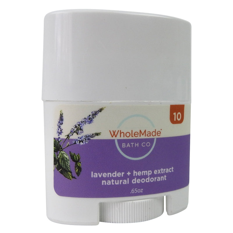Hemp Infused Natural Deodorant | Lavender