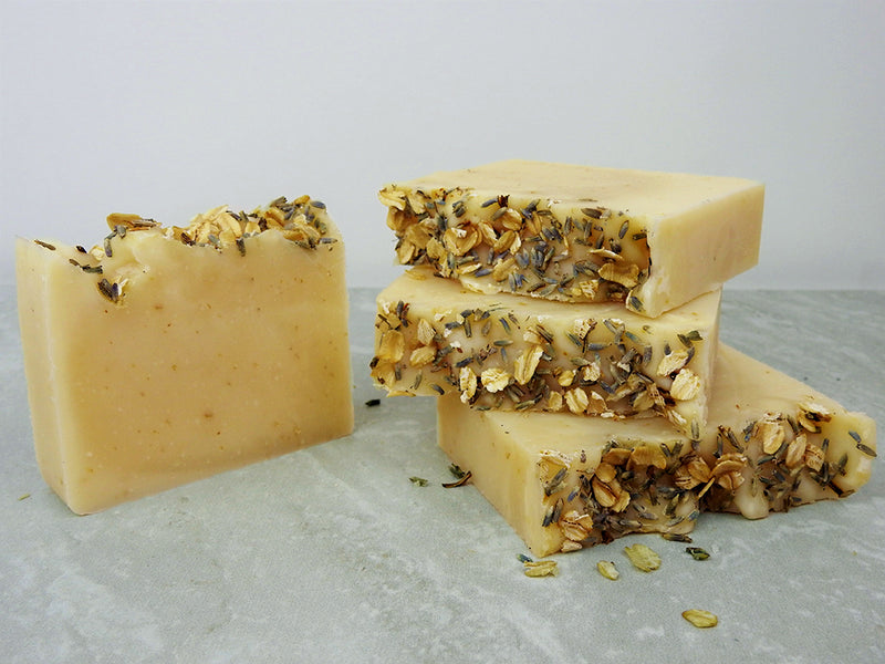 Lavender & Oatmeal Hemp Soap