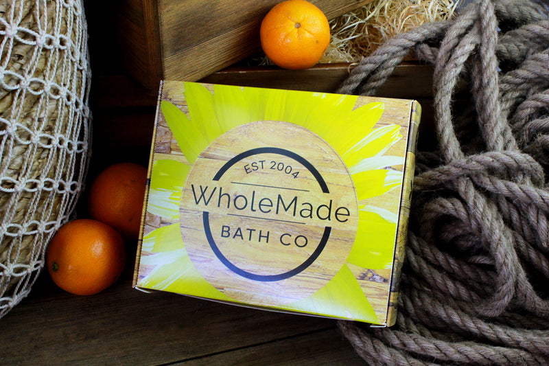 WholeMade Hemp Bath and Body Care Sampler Pack
