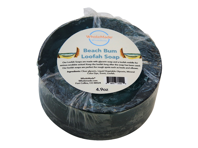 Beach Bum Loofah Soap