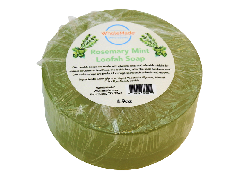 WholeBody Rosemary Mint Loofah Soap
