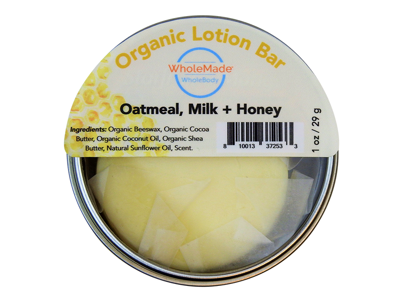 Oatmeal, Milk & Honey Lotion Bar