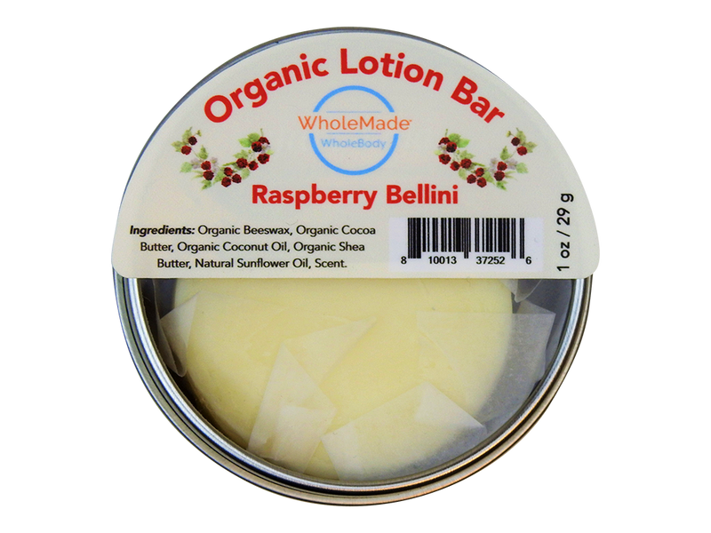 WholeBody Raspberry Bellini Lotion Bar