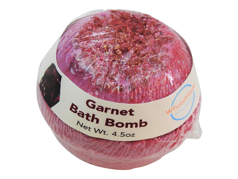 WholeBody Garnet Mega Bath Bomb